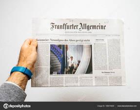 interview in Duitse kwaliteitskrant Frankfurter Allgemeine Zeitung