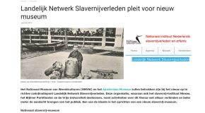 Conferentie Landelijk Netwerk slavernijverleden (13/12/18) Alex van Stipriaan: 'Nederlandse Ontwikkelingen in de Aandacht voor het Slavernijverleden'