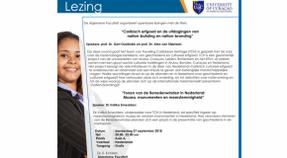 Lezing University of Curaçao