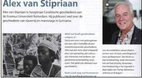 Interview in tijdschrift voor geschiedenis docenten KLEIO, dec. 2019