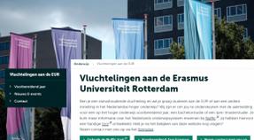 gastcollege voor vluchteling-studenten 'Migratie, Gastvrijheid en Tolerantie, de casus Rotterdam' (16/11/18)