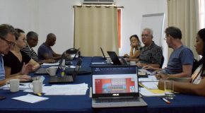 Traveling Caribbean Heritage project team in Bonaire and Curaçao, 22/09 – 09/10. Working on our book, public presentations and seminar