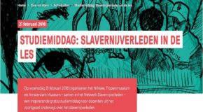 Slavernijgeschiedenis in de klas – studiemiddag 21 febr. 2018
