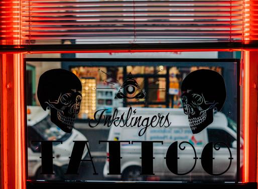 Inkslingers Tattoo, Newcastle UK