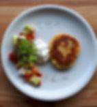 Kartoffel-Plätzchen_mit_Tzaziki_und_grie
