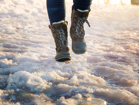 Tips for Walking Safely on Ice