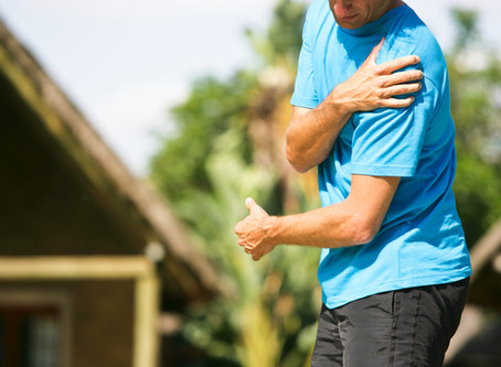 Have an Overworked Shoulder or Rotator Cuff?