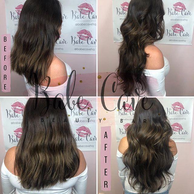 Long hair don't care 💋 Tri-blend tape i