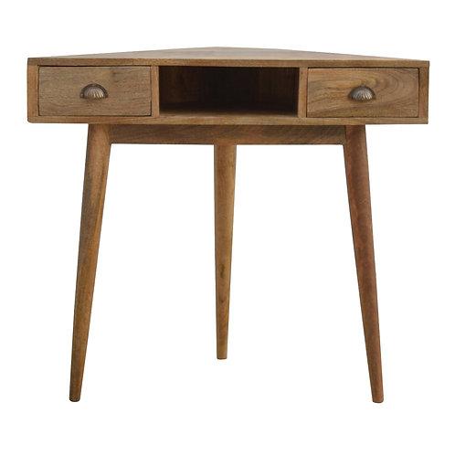 Solid Wood Corner Writing Desk