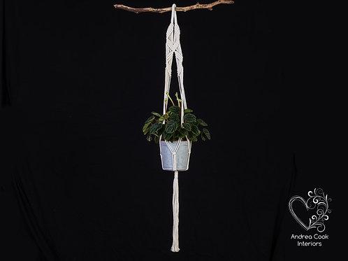 Macrame Plant Pot Hanger - Flower Pot Hanger, Plant Hanger, Plant Hanger