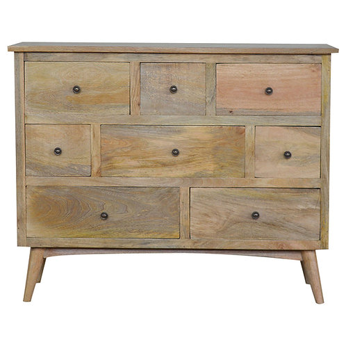 Nordic Style Chest with 8 Drawers