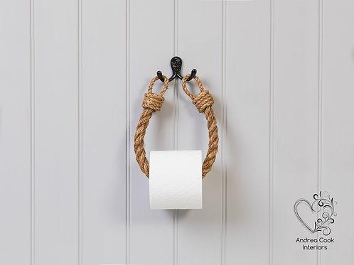 Chunky Manila Rope Toilet Roll Holder - Toilet Paper Holder