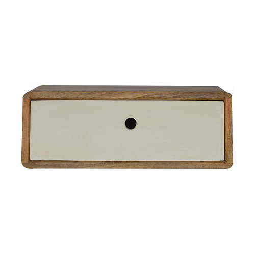 Inclined Wall Mounted Bedside Table
