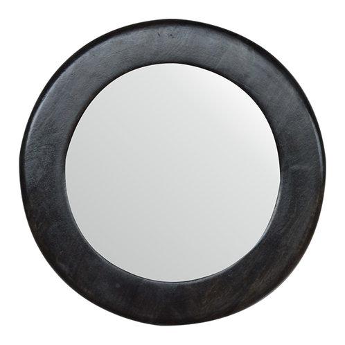 Carbon Black Frame Mirror