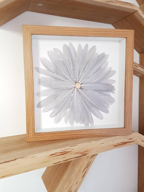 Feather Wall Art - Home Decor Wall Art, Wall Hanging, Wall Art