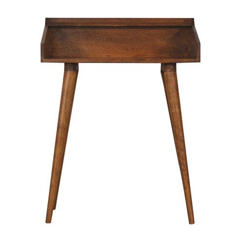 Open Chestnut Writing Desk