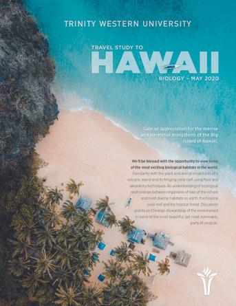 Travel Study 2020 - Hawaii