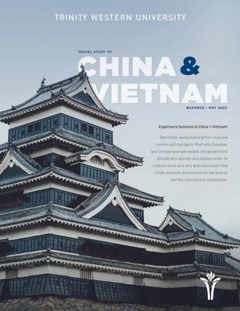 Travel Study 2020 - China & Vietnam