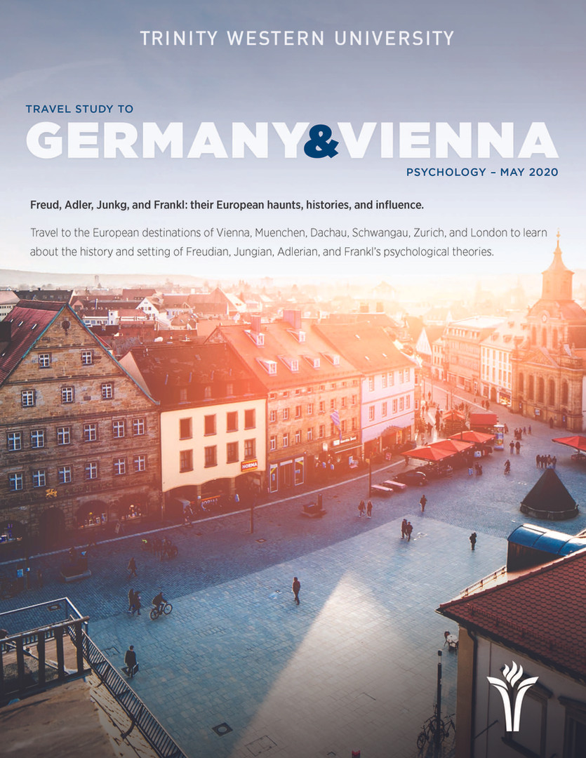 Travel Study 2020 - Germany & Vienna