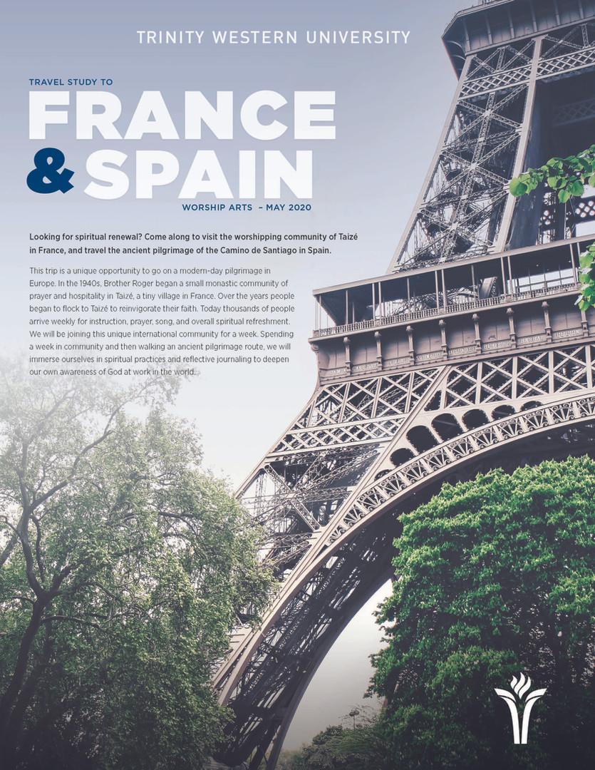 Travel Study 2020 - France & Spain