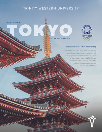 Travel Study 2020 - Tokyo
