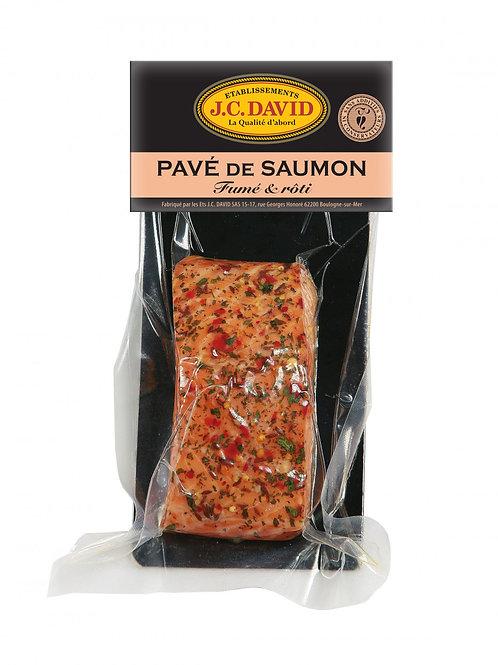 Pave de saumon fume roti aux epices de provence 120g
