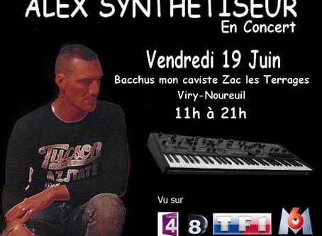 Concert Live Vendredi 19 Juin 2020 de 11h00 à 21h00