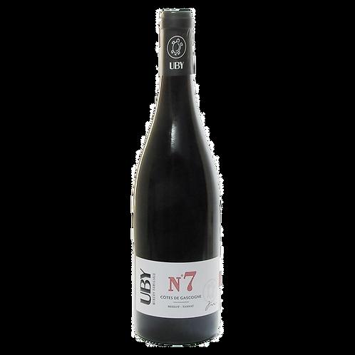 Domaine Uby Merlot Tannat N°7 IGP Côtes de Gascogne
