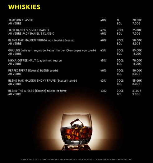 LES WHISKIES