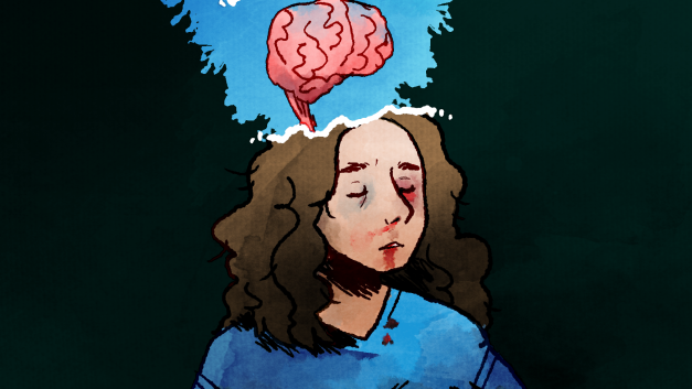 Losing My Mind Sticker