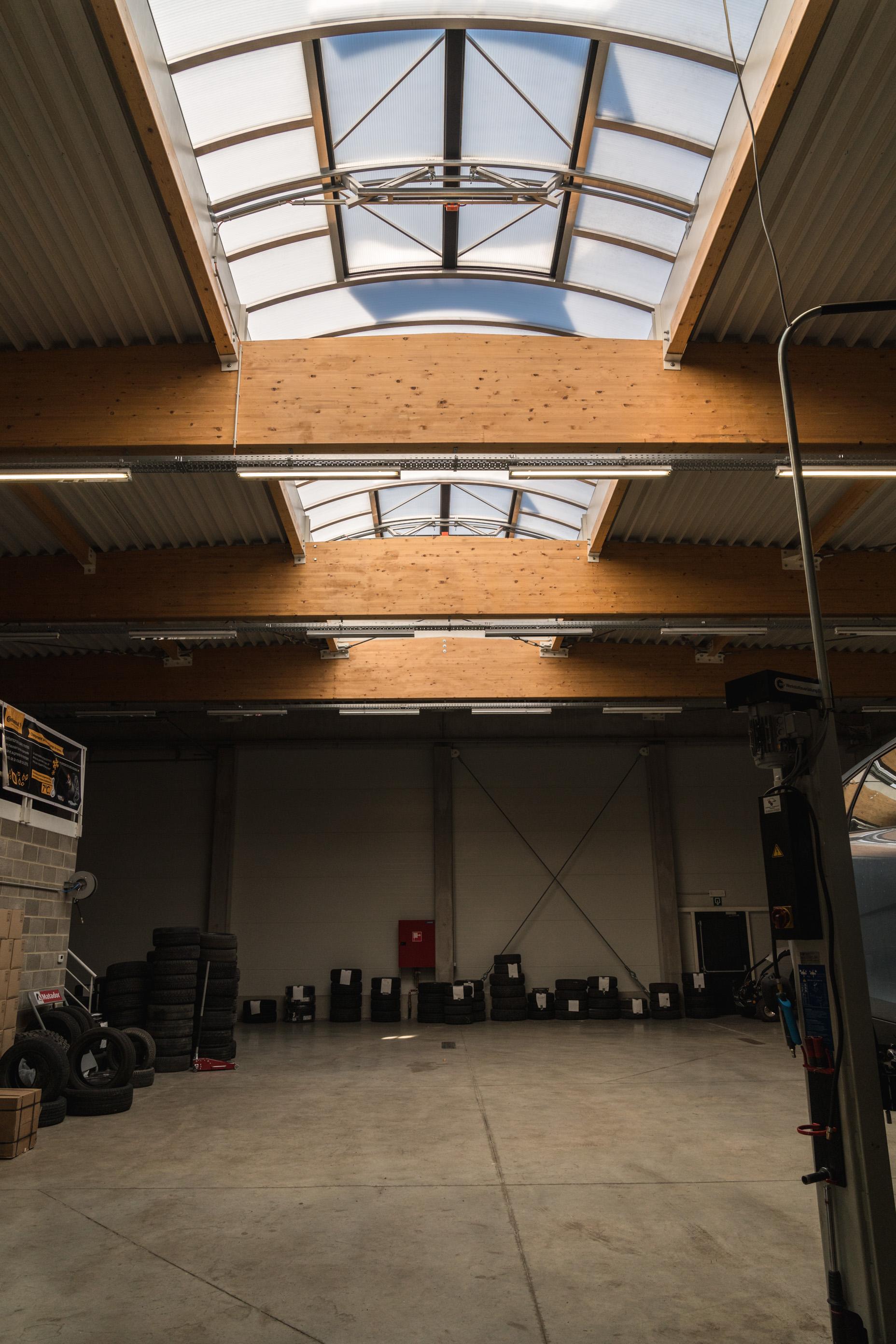 Hall industriel Martelange