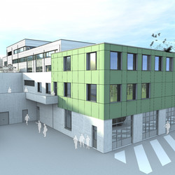 Hall logistique de l'armée à Diekirch (LU)