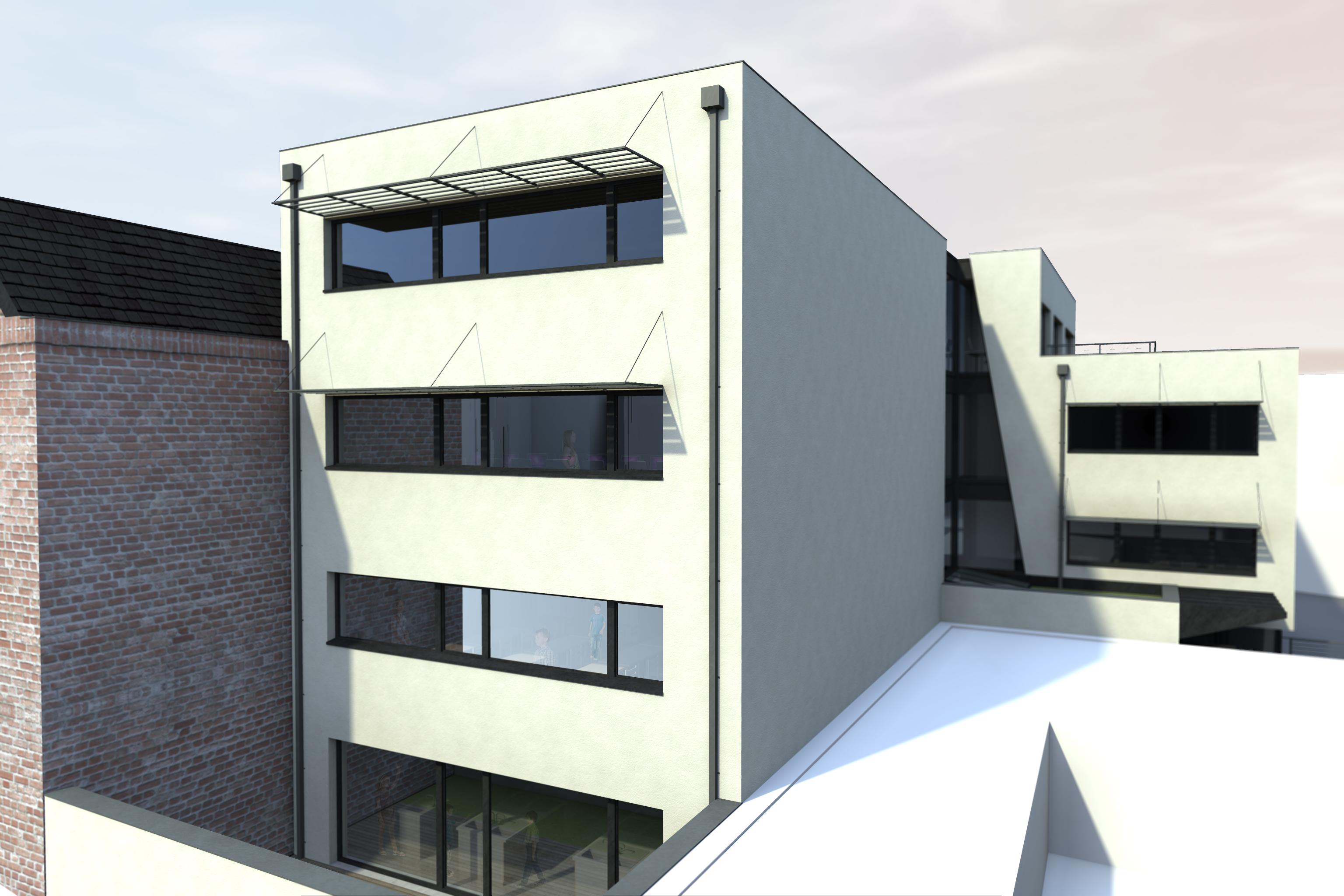 Extension d'école Namur (BE)