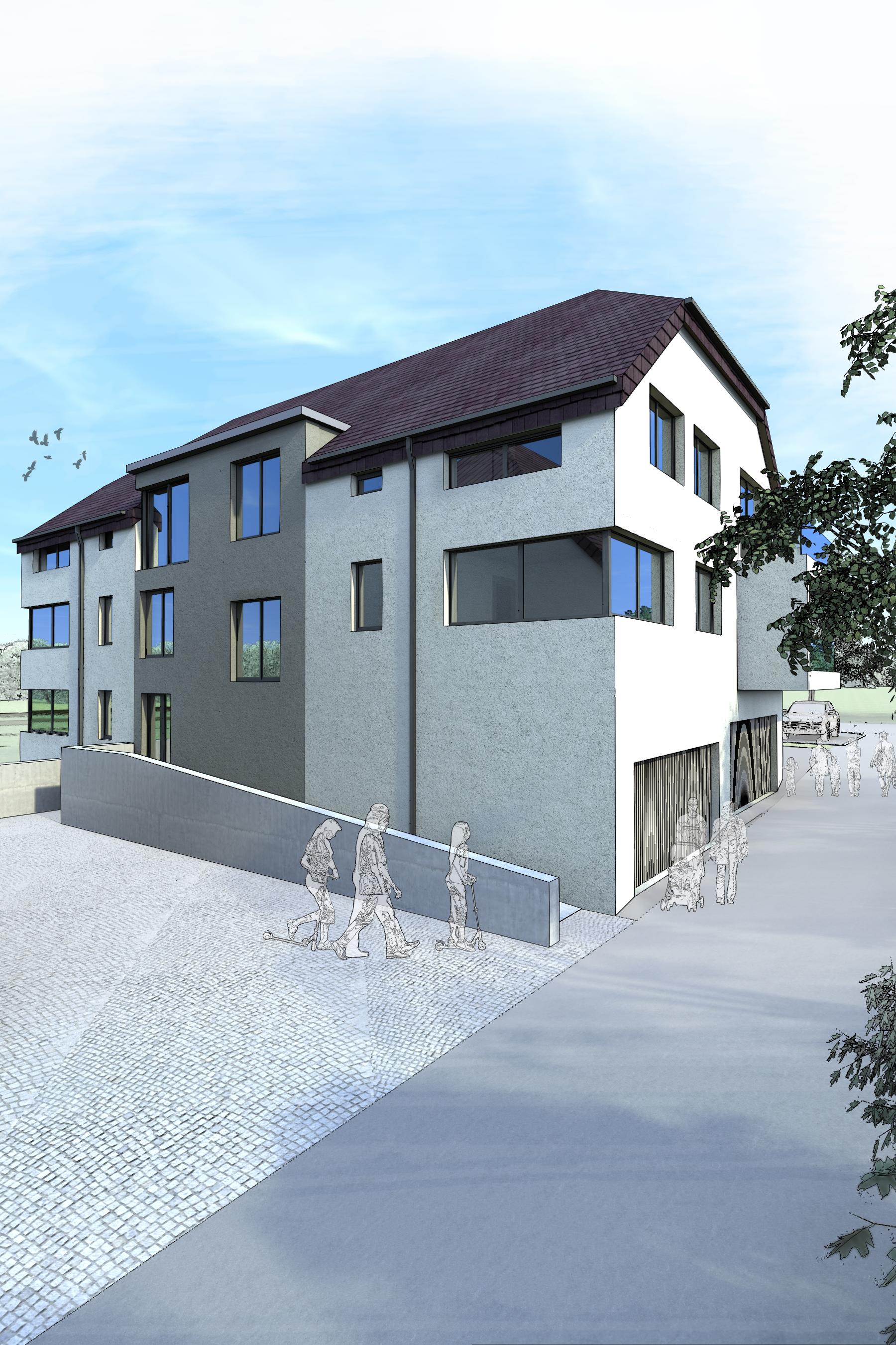 Immeuble résidentiel, Wilverwiltz (L