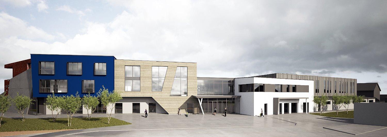 Centre scolaire, Dahl (LU)