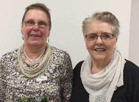 Ehemalige Vorsitzende Dagmar Bomke erhält Ehrenmitgliedschaft