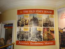 Old State House, Boston, Sitz der britischen Kolonialregierung, heute Museum