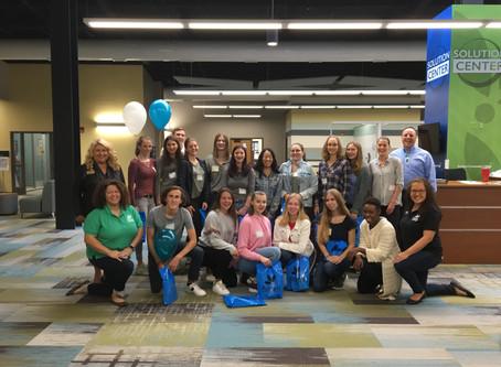 15 Jugendliche vom Gymnasium Meckelfeld besuchen Decatur, Illinois