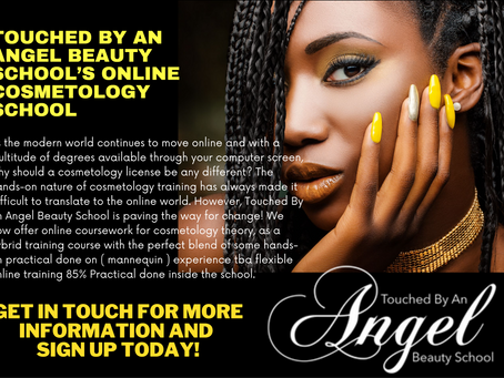 Touched By An Angel Beauty School's Online Cosmetology School