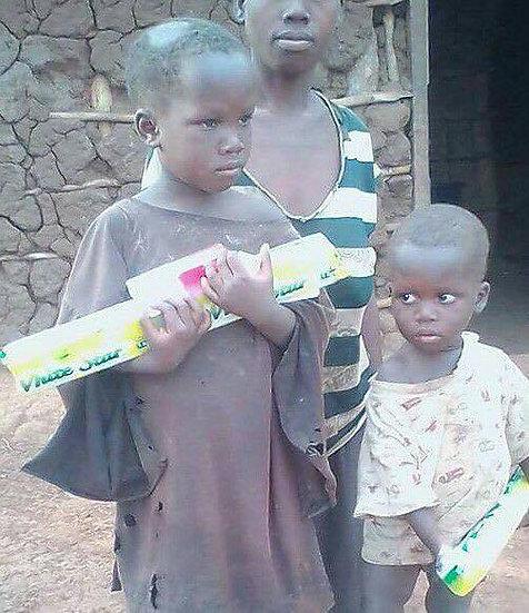 Donation for hygiene supplies: soap, feminine hygiene kits, health eduction.
