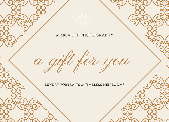 Gift Card - Portrait Session