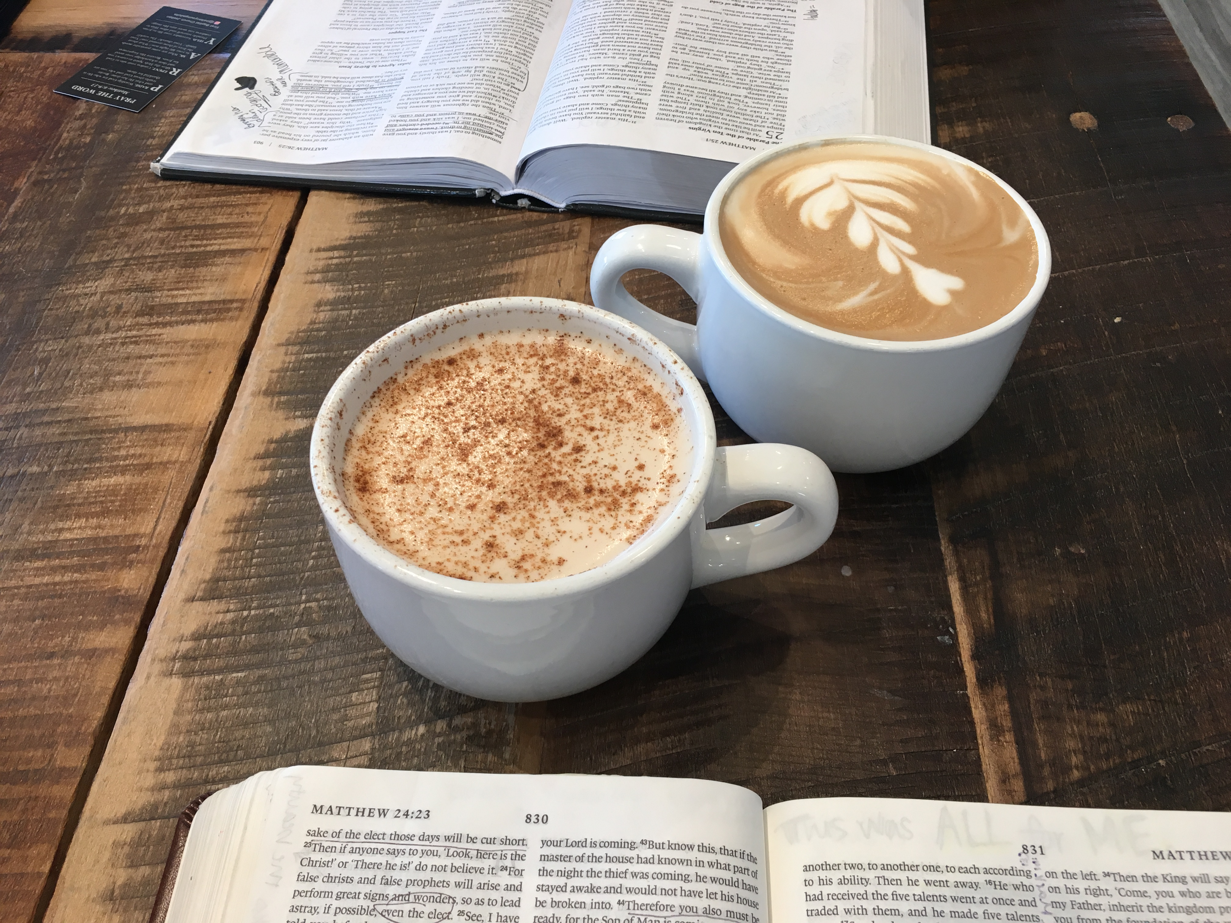 Coffee and Discipleship