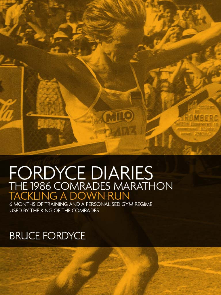 Bruce Fordyce's eBook on Tackling the Comrades Down Run