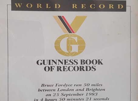"""WE BORROW WORLD RECORDS, BUT WE KEEP TITLES."""