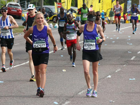 THE SECOND HALF OF THE DOWN COMRADES MARATHON STARTS IN PINETOWN.