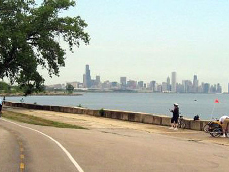 GEOFF BURNS & THE CHICAGO LAKEFRONT 50MILE/50KM.