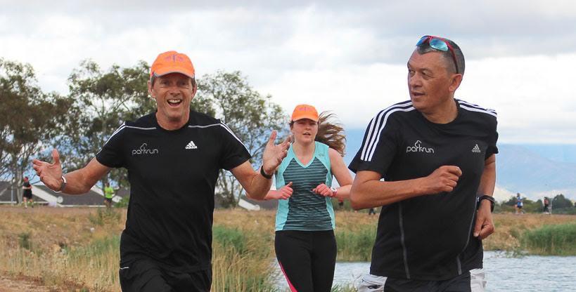 Bruce Fordyce parkrun running when older