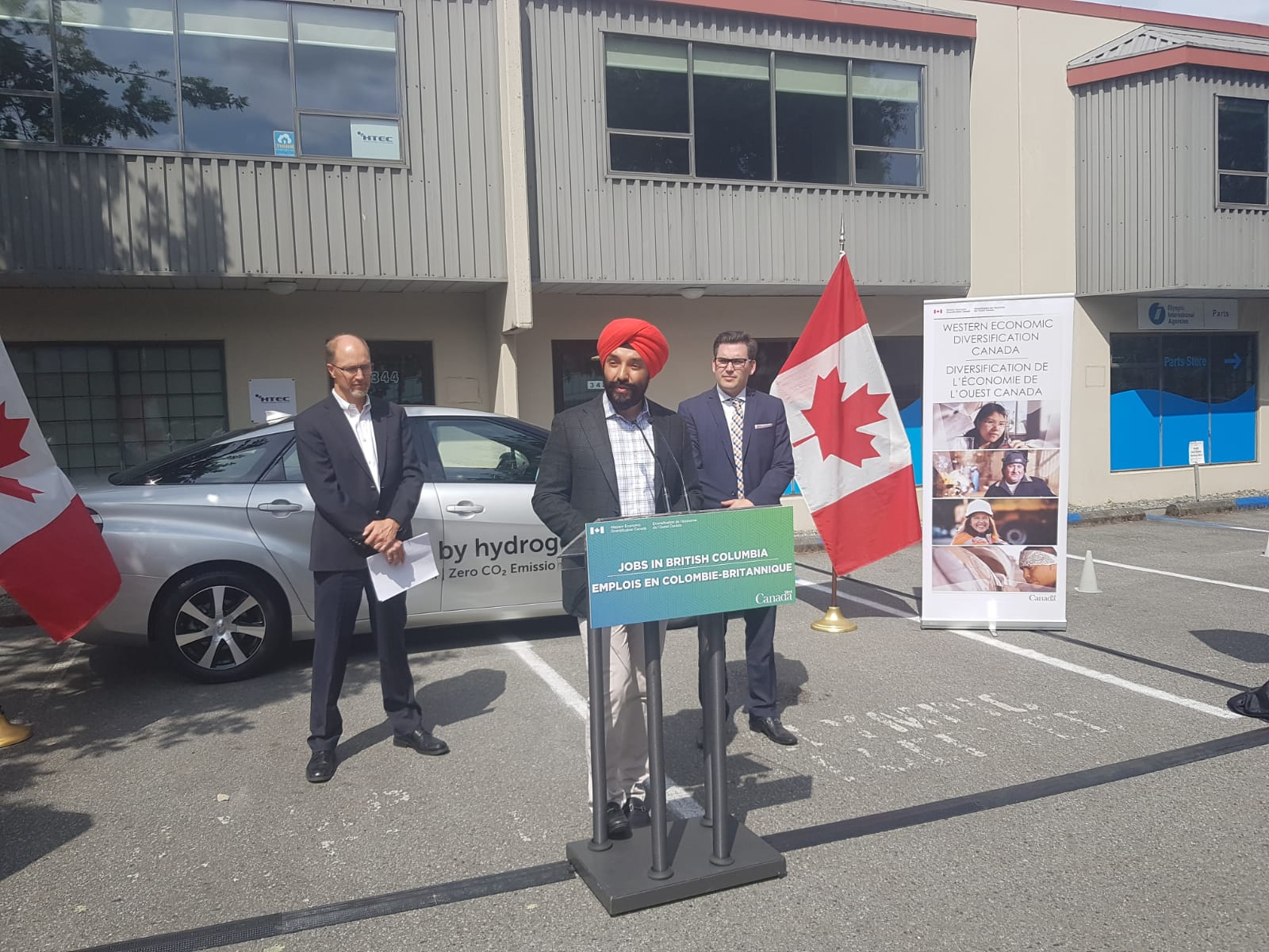 Minister Bains announces funding