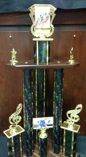 Dance Contest Trophy