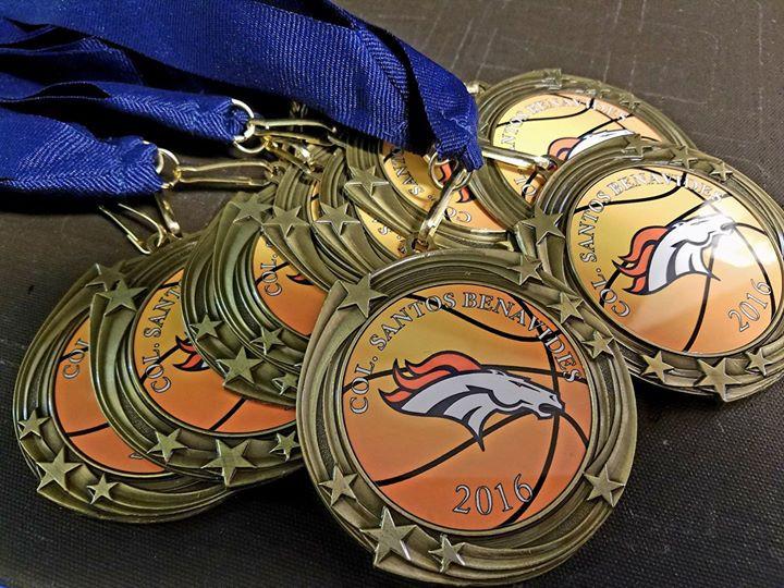 Custom printed Medals